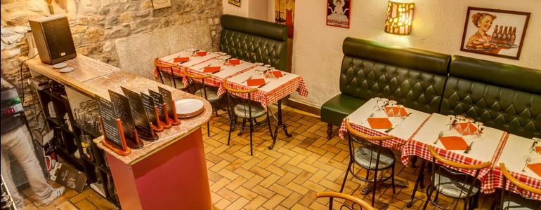 restaurant Restaurant Bouchon lyonnais ambiance coude à coude Lyon