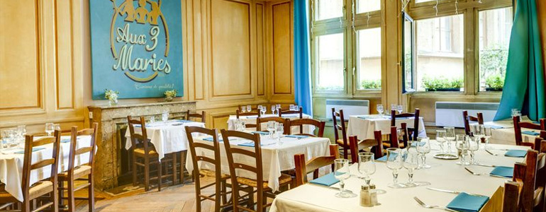 restaurant Restaurant Bouchon lyonnais chic et élégant Lyon