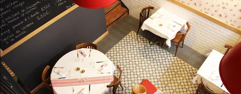 restaurant Restaurant Bouchon lyonnais revisité moderne Lyon