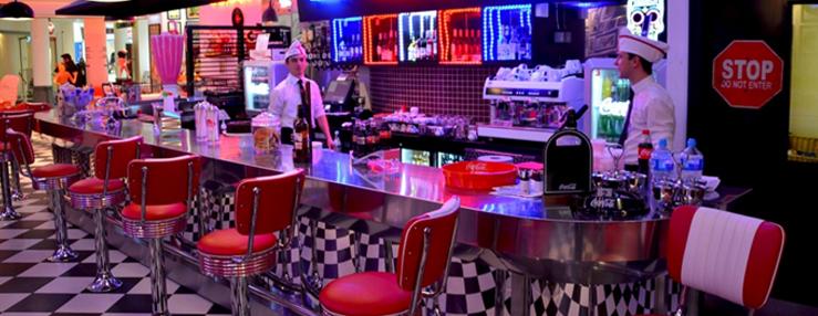Restaurant diner am ricain lyon le classement des lyonnais for Decoration americaine annee 50