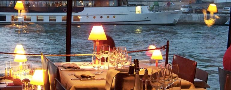 restaurant Restaurant Diner croisière à Lyon