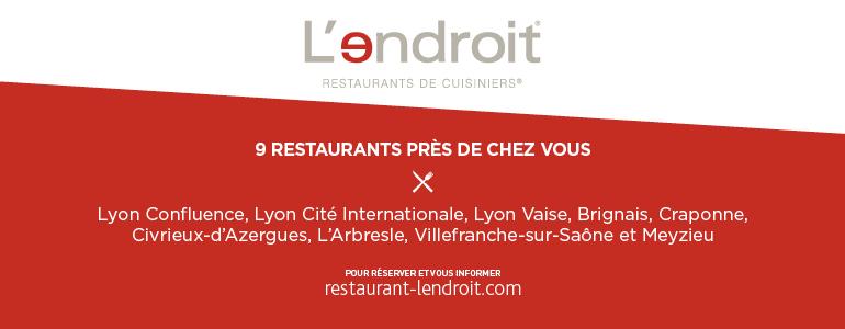 restaurant Restaurant L'endroit Lyon