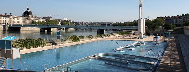 Restaurant piscine du rh ne lyon le classement des lyonnais for Tarif piscine du rhone