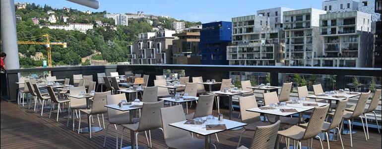 restaurant Restaurant Premières terrasses ouvertes à Lyon
