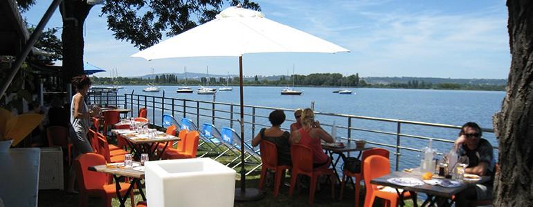 Les restaurants terrasse au bord de l'eau de Lyon
