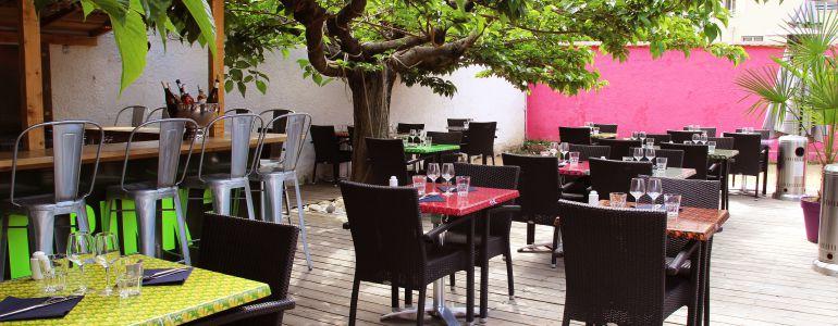 restaurant Restaurant Terrasse avec brumisateur Lyon