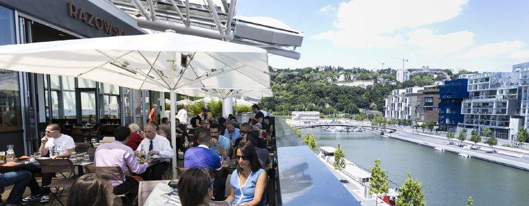 Restaurant terrasse avec vue lyon le classement des lyonnais for Restaurant terrasse lyon