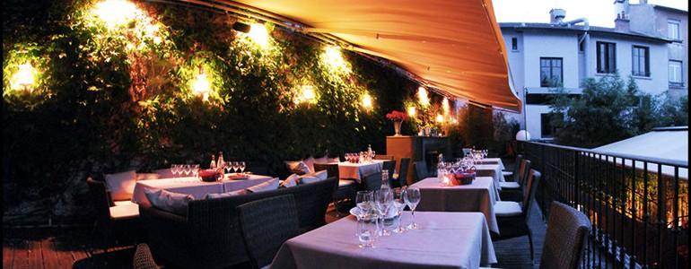 restaurant Restaurant terrasse charme urbain Lyon