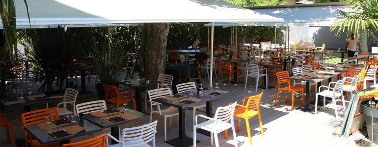 restaurant Restaurant Terrasse close de murs Lyon