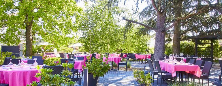 Les restaurants Terrasse sous les arbres de Lyon
