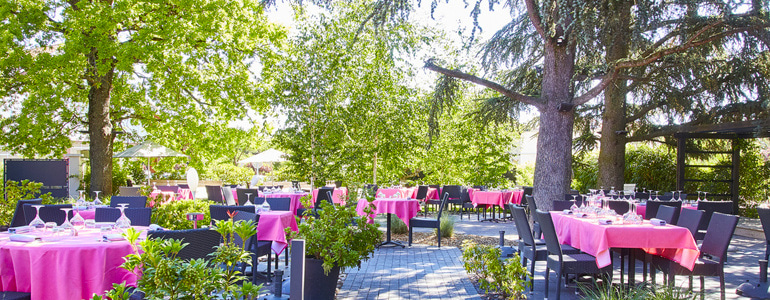 restaurant Restaurant Terrasse sous les arbres Lyon