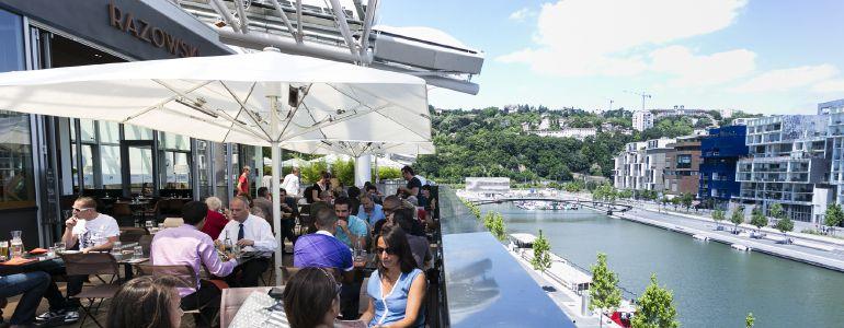 restaurant Restaurant Terrasse sur quai Lyon