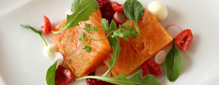 restaurant Restaurant Vente à emporter de saumon fumé maison Lyon
