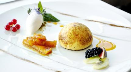 Restaurant Cuisine Bien-être élégante lyon