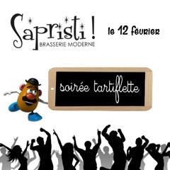 Soirée tartiflette dansante au Sapristi Brasserie Moderne