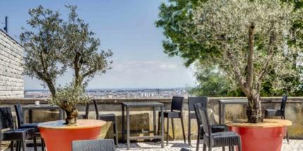 Restaurant Terrasses avec vues panoramiques lyon