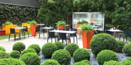 Restaurant Un patio bien caché dans Lyon lyon