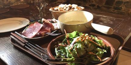 Restaurant La fondue aux cèpes du Pastoureau lyon