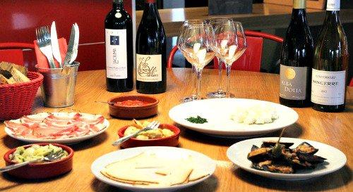 Restaurant Vin et tapas, comme à Barcelonne lyon