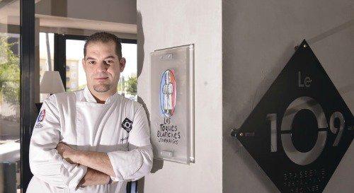 Restaurant Le chef Michaël Toledo au centre de Décines lyon