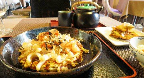 Restaurant Comme une crêpe vivante chez Kiozen lyon
