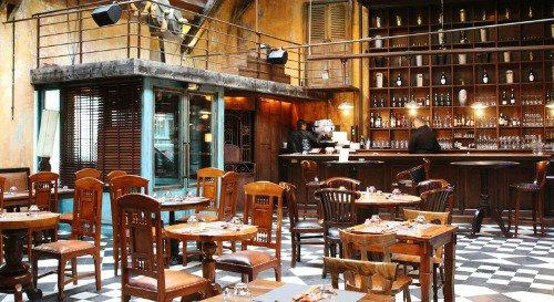 Restaurant Brasserie chic et décor de rhumerie cubaine lyon