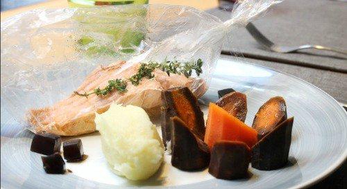 Restaurant Le plaisir de manger du tout frais maison lyon