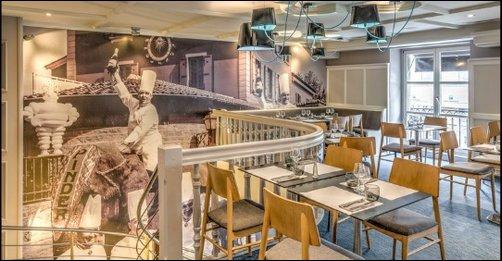 Restaurant La nouvelle brasserie design du quartier Bellecour lyon
