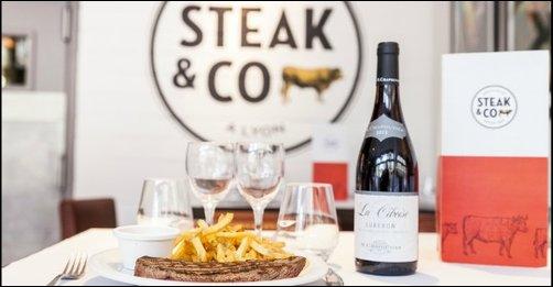 Restaurant Steak and co, la steakhouse des Brotteaux lyon