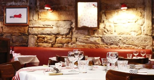 Restaurant Ambiance intimiste au Bouchon Sully lyon