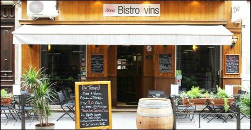Restaurant Vins et tapas à l'honneur lyon