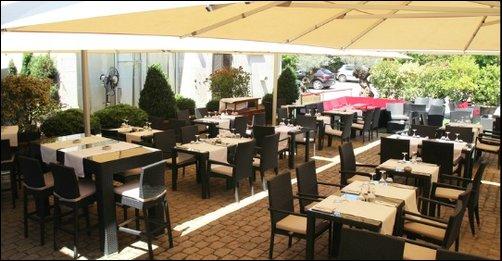 Restaurant La terrasse d'un hôtel particulier lyon