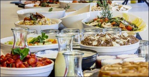 Restaurant Nouveau: le buffet de l'Ibis Kitchen Part-Dieu lyon