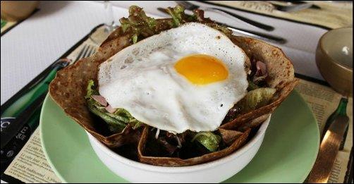 Restaurant La crêpe salade du Dolmen lyon