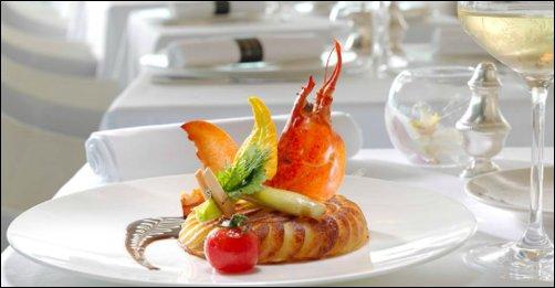 Restaurant La tourte de homard, plat signature de Christian Lherm lyon