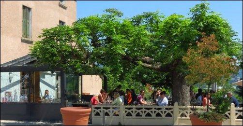 Restaurant Les terrasses sous les arbres lyon