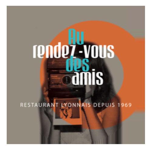 logo restaurant Au rendez vous des amis >à Lyon