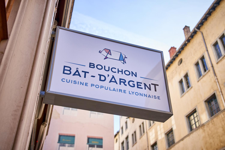 logo restaurant Bouchon Bât d'Argent >à Lyon