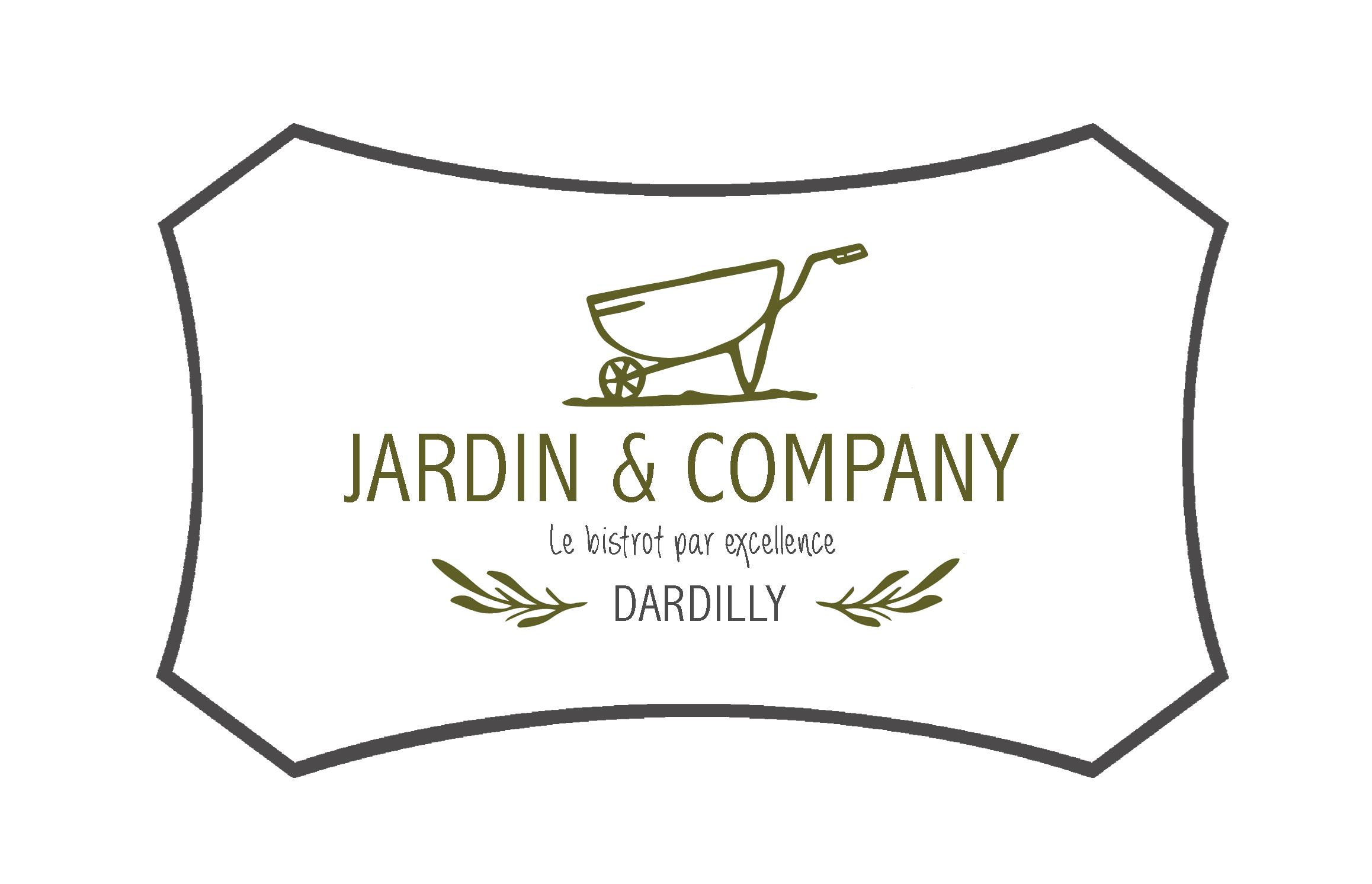 logo restaurant Jardin & Company >à Dardilly