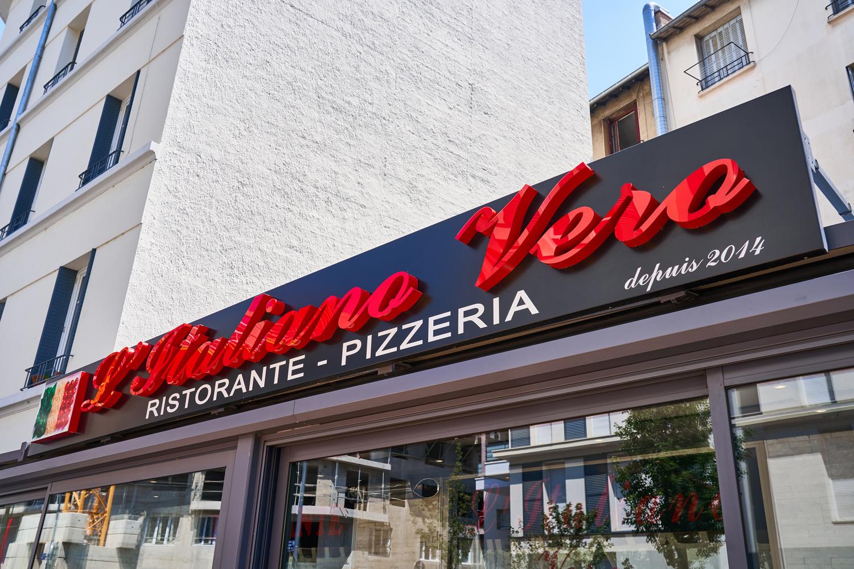 logo restaurant L'Italiano Vero >à Lyon