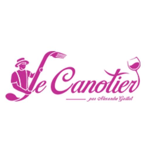 logo restaurant Le Canotier >à Rochetaillee-sur-Saone