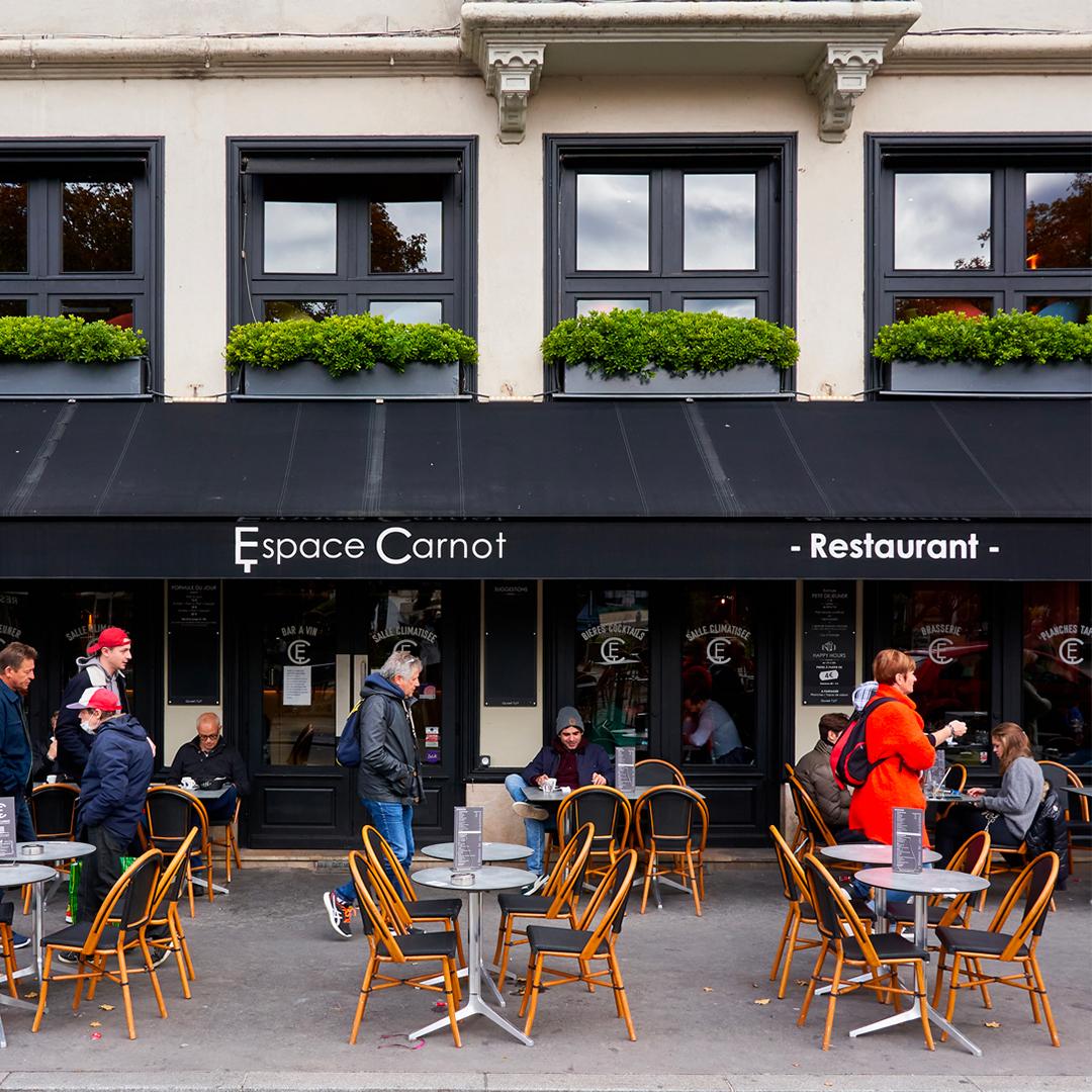 Menu restaurant Brasserie Espace Carnot à 69002 Lyon