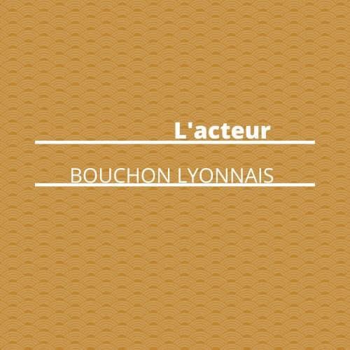 Menu restaurant L'Acteur à 69002 Lyon