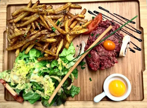 selection All Fred s tartare boeuf All Fred's