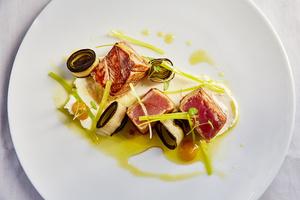 04 plat Arsenic restaurant gastronomie Lyon Arsenic
