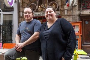 001 Au Grand mechant Loup restaurant bouchon lyon cordeliers equipe Au Grand Méchant Loup