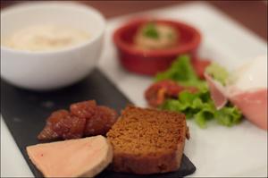 3 foie gras restaurant monts du lyonnais thurins auberge de la cote selection Auberge de la Côte