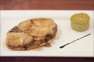 Photo  68-plat-lentilles-1-salade-entree-restaurant-monts-du-lyonnais-thurins-auberge-de-la-cote.jpg Auberge de la Côte