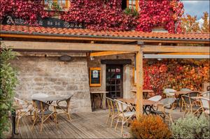 Photo  7-terrasse-facade-1-salade-entree-restaurant-monts-du-lyonnais-thurins-auberge-de-la-cote.jpg Auberge de la Côte
