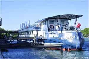 01 arriere restaurant bateau bellona lyon Bateau Bellona
